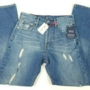 Gap Womens High Rise Jeans Size 26 R Cone Demin